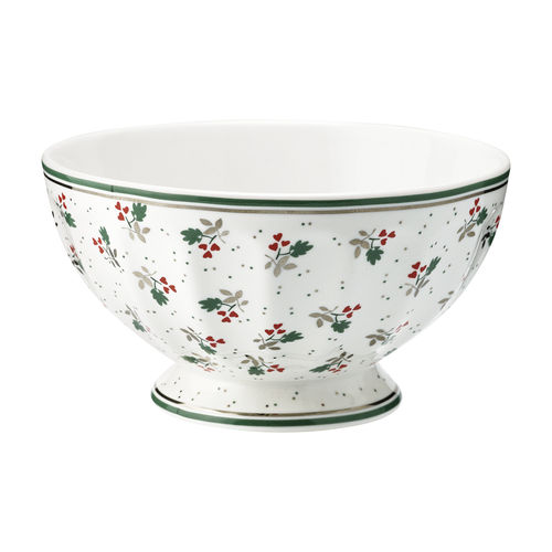 GreenGate Müslischale / Frenchbowl Joselyn white