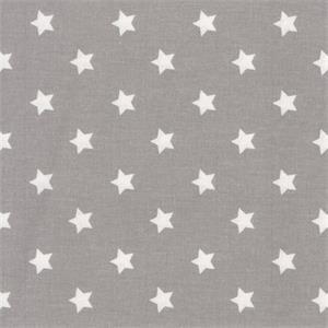 Wachstuch Star grey