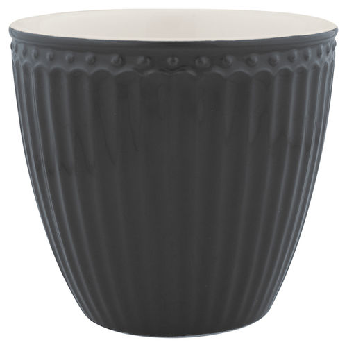 GreenGate Lattecup Alice dark grey