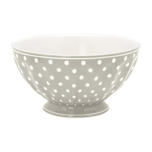 GreenGate Müslischale/Frenchbowl Spot grey