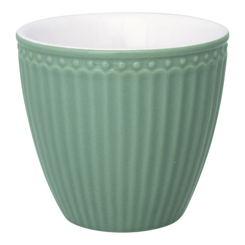 GreenGate Latte Cup Alice dusty green