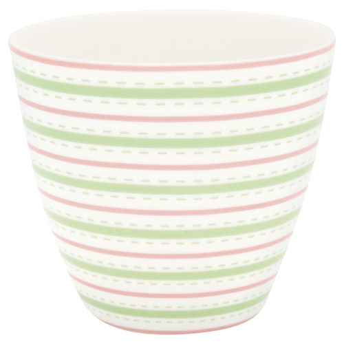 GreenGate Latte Cup Sari white