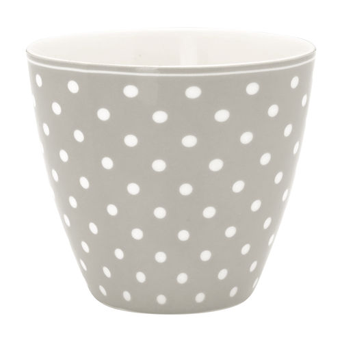 GreenGate Coffeebecher/ Latte cup Spot grey