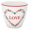 GreenGate Latte Cup Heart Love