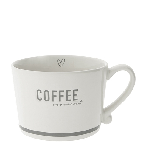 Bastion Collections große Henkeltasse 'Coffee moment'