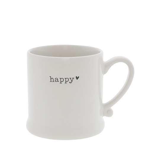 Bastion Collections Kaffee-Tasse ' HAPPY'